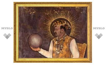 Обнародована крупнейшая картина империи Великих Моголов