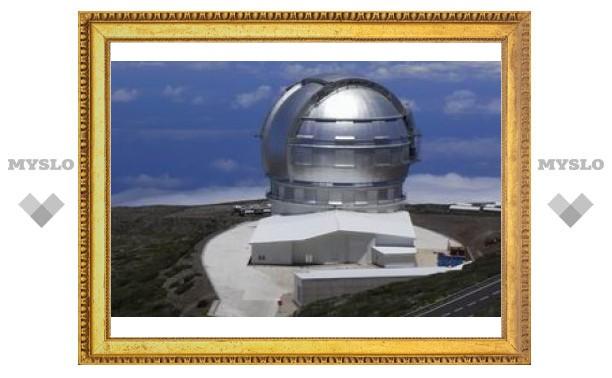 На Канарских островах открыли самый большой оптический телескоп в мире