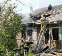 Тулячка с сыном и собакой спаслись из горящего дома