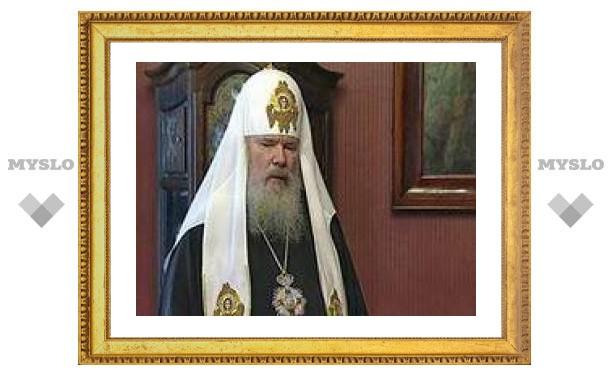 Патриарху Алексию II исполнилось 78 лет