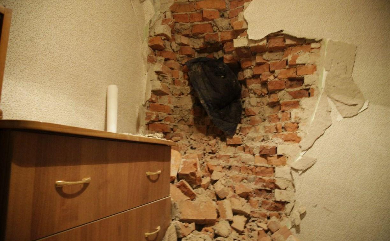 В Туле троллейбус пробил стену дома: подробности ДТП