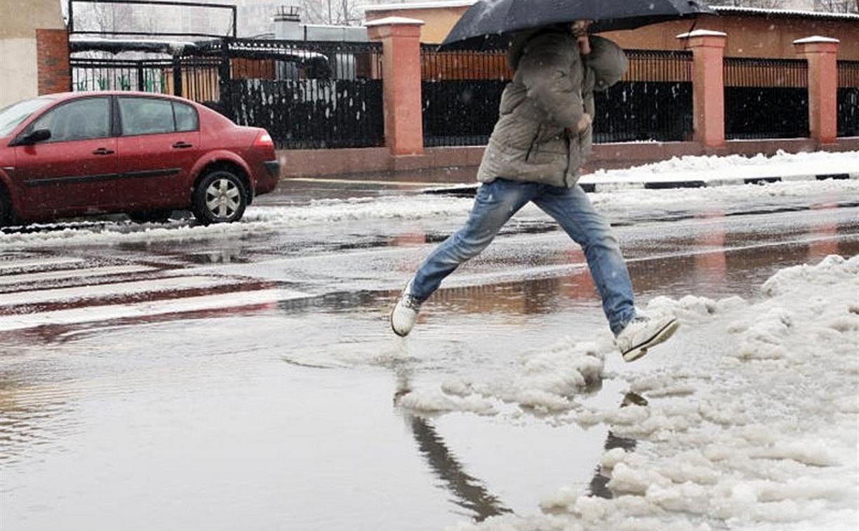 Погода в Туле 28 ноября: сыро, скользко, от -2 до +3