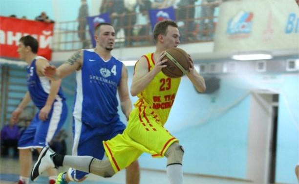 БК «Тула-Арсенал» с трудом победил в игре с «Бриллиантами Костромы»