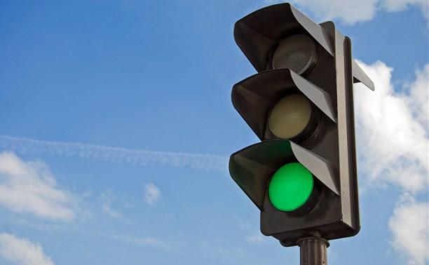 На пересечении проспекта Ленина, улиц Станиславского и Болдина провели реконструкцию светофора