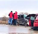 ДТП на Новомосковском шоссе: пострадали четыре человека