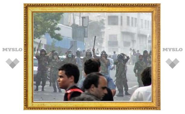 В Тегеране арестованы 457 участников акций протеста