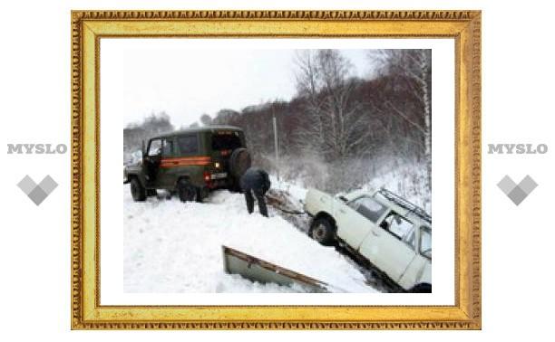 Три автомобиля столкнулись на Восточном объезде