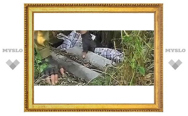 Под Тулой снова нашли взрывчатку
