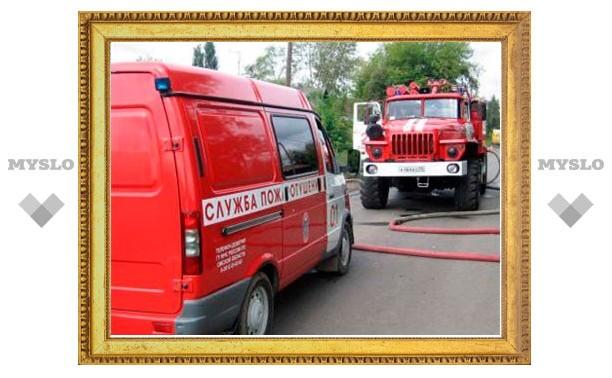 В Богородицке сгорели две квартиры