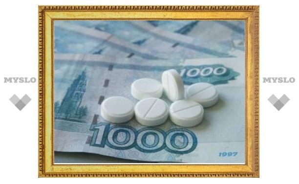 На лекарства для льготников в 2012 году выделили 27 миллиардов рублей