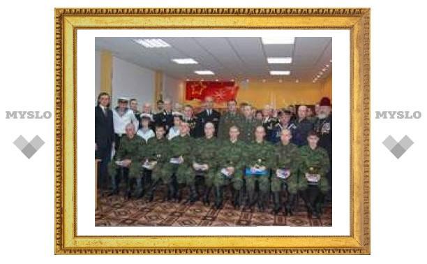 Молодых туляков проводили служить на Северный флот