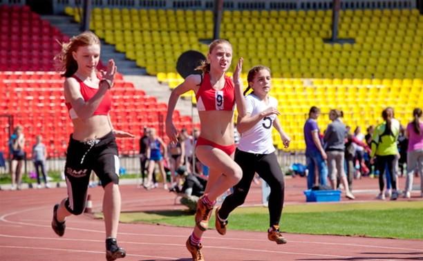 Тульские легкоатлеты оказались быстрее всех
