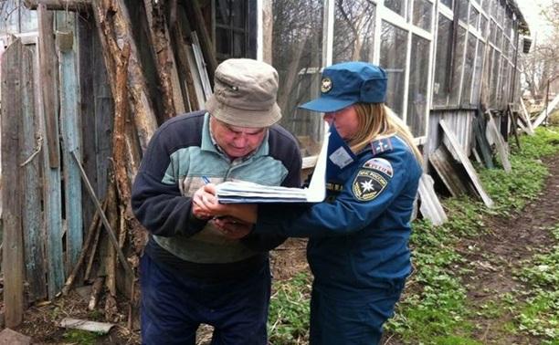 МЧС проинформировало туляков об опасности сжигания травы и мусора