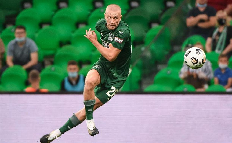 Футболист Игорь Смольников тренируется с тульским «Арсеналом»