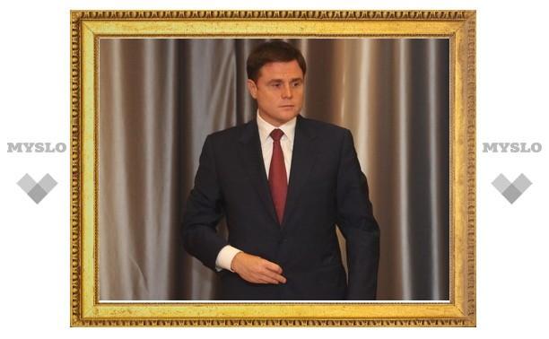 Владимир Груздев внес в облдуму законопроект «Об отзыве губернатора Тульской области»