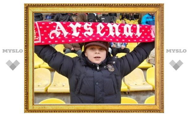 "Тульский ""Арсенал"" разгромил липецкий ""Металлург"""