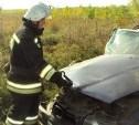 В Ефремовском районе BMW улетел под КамАЗ