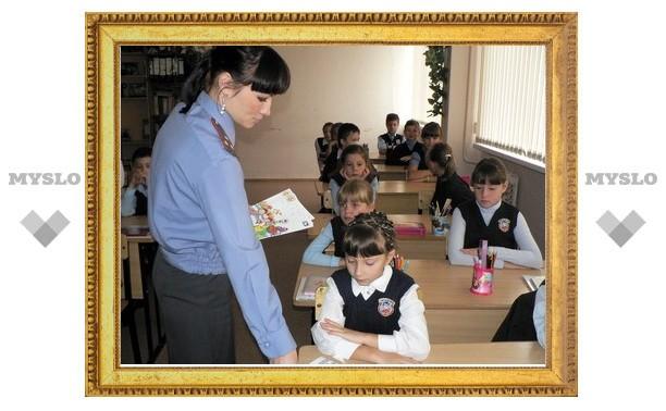 В День знаний сотрудники ГИБДД оцепят школы