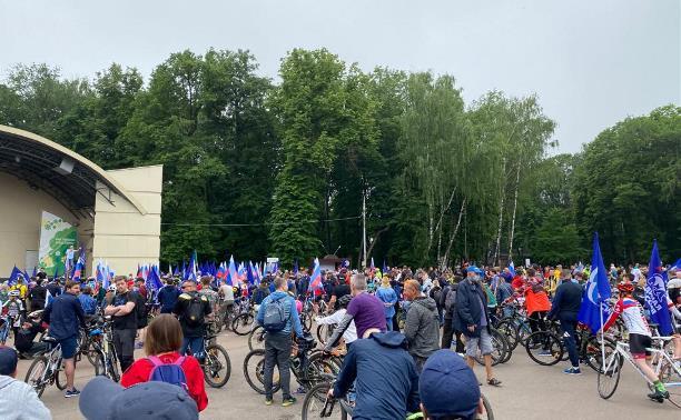 В Туле прошел большой велопарад