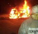 В Щёкино ночью сгорел «Форд»