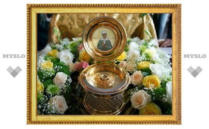 Туляки могут поклониться мощам святой Матроны
