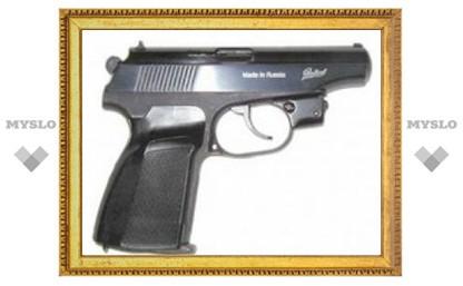В Туле изъят пневматический пистолет