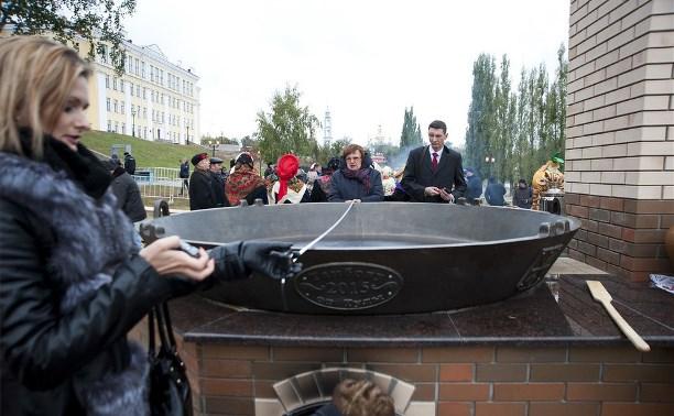 Тульские сковородки – самые большие в России