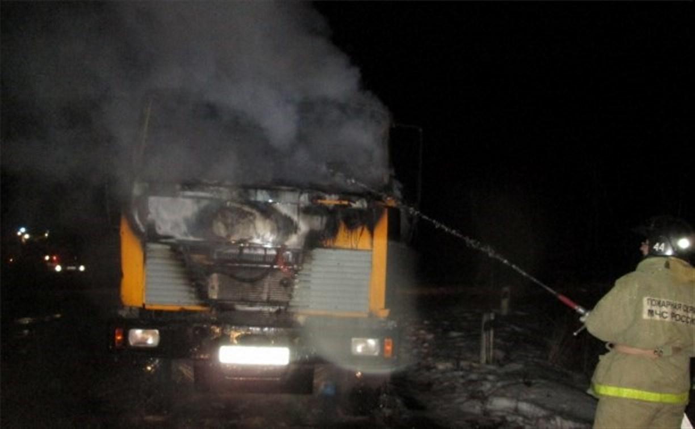За ночь в области сгорели три автомобиля
