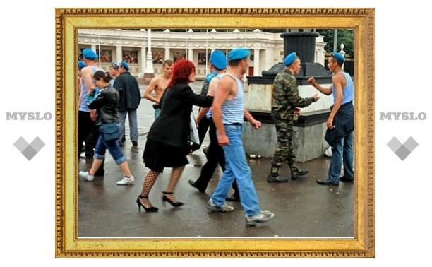 В День ВДВ бывший десантник искалечил милиционера