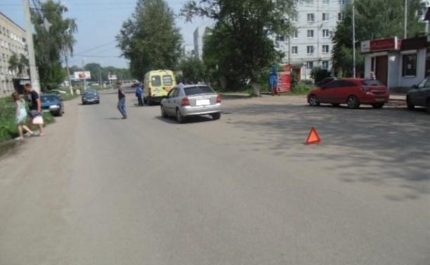 В Узловой водитель «Опеля» сбил пешехода