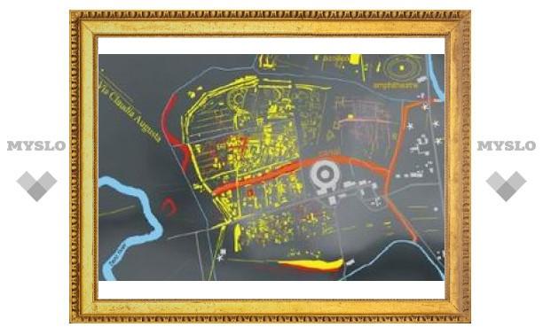 Археологи составили карту исчезнувшего римского города