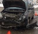 В Туле при столкновении двух автомобилей погиб пешеход