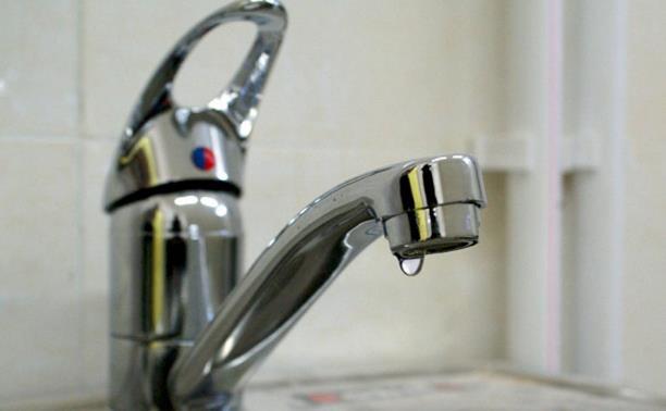 Пролетарский район Тулы на сутки останется без воды