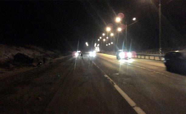 В ночном ДТП на трассе «Крым» погибли мужчина и женщина
