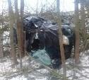 В Тульской области на одном и том же участке с разницей в час опрокинулись две машины