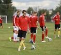 Защитник «Арсенала» Сергей Сухарев принял участие в тренировке команды