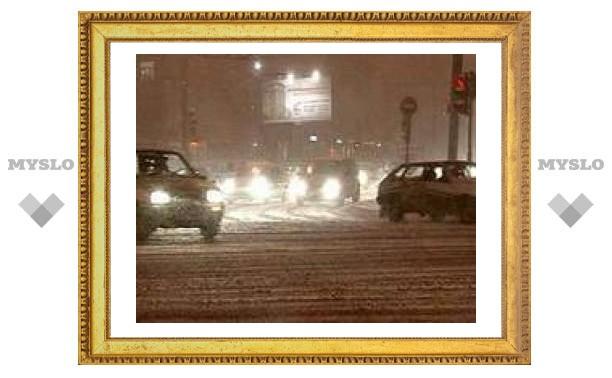 Вечером в Туле ожидается снегопад