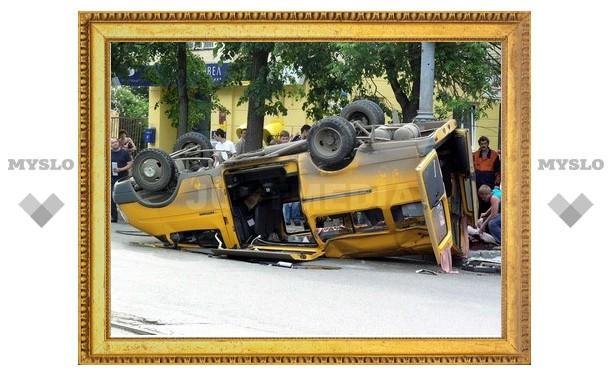 На тульских маршрутках опасно ездить