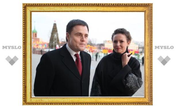 Владимир и Ольга Груздевы встретят Новый год в Туле