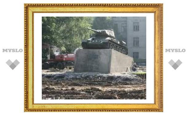 Сквер у ТГПУ преобразуют ко Дню города