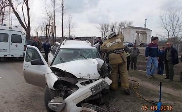 В аварии в Киреевске погиб сотрудник полиции
