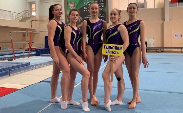 Тульские гимнастки привезли серебро с чемпионата ЦФО