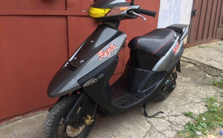 В Новомосковске студент украл скутер