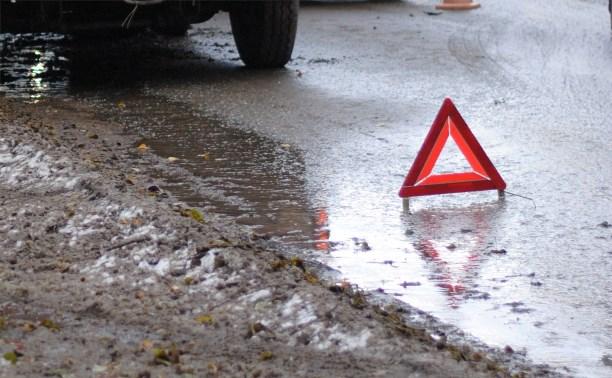 В Заокском районе в столкновении «Дэу Матиз» и грузовика «Даф» погибли женщина и ребёнок