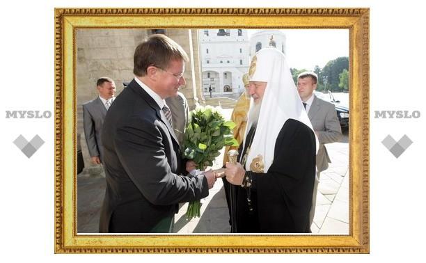 Вячеслав Дудка побывал на богослужении в Москве