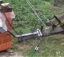 Из-за поваленного ветром столба часть Скуратово в Туле осталась без электричества