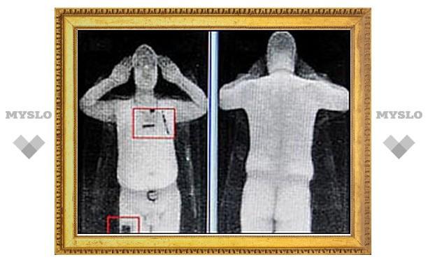 """В Великобритании впервые в мире начали использовать """"раздевающий"""" сканер"""