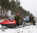 В Кимовске браконьер сбивал на снегоходе косуль на территории музея-заповедника «Куликово поле»