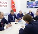 На ПМЭФ-2018 Алексей Дюмин встретился с руководством «Балтики»