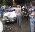 В Узловой в ДТП с участием маршрутки пострадали семь человек